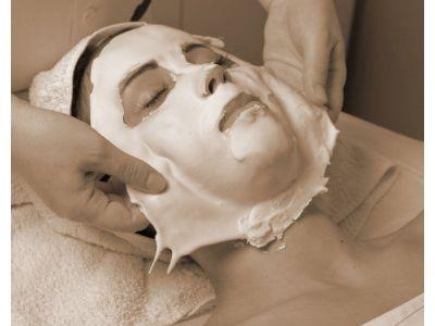 Профессиональная альгинатная лифтинг маска с гиалуроновой кислотой