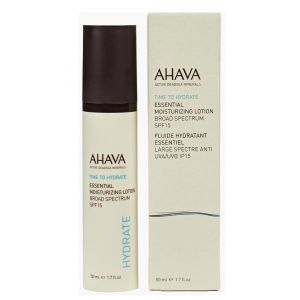 Легкий увлажняющий крем, 50мл - Ahava Essential Moisturizing Lotion Broad Spectrum SPF15