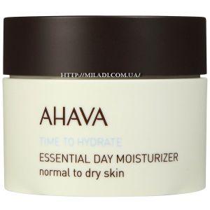 Крем для нормальной и сухой кожи, 50мл - Ahava Essential Day Moisturizer Normal to Dry Skin
