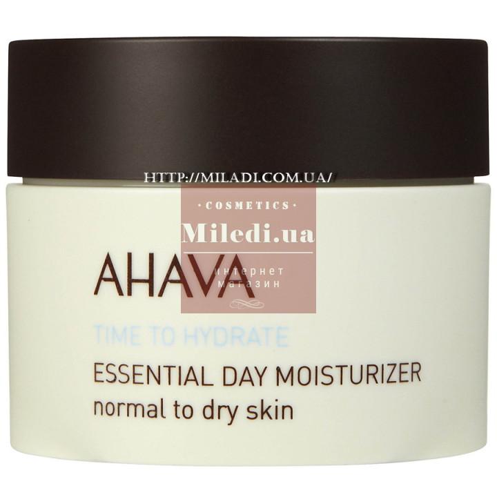 Крем увлажняющий дневной для нормальной и сухой кожи - Ahava Essential Day Moisturizer Normal to Dry Skin