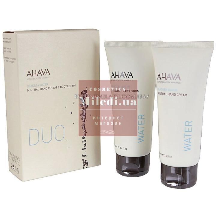 Набор минеральный для рук и тела Дуэт - Ahava Kit Duo Water Hand & Body