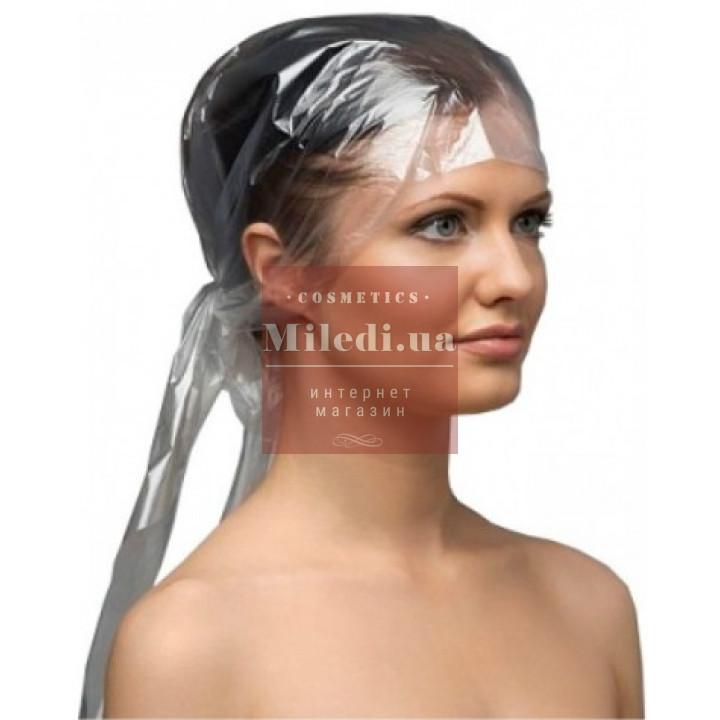 Косынка полиэтиленовая для окрашивания волос