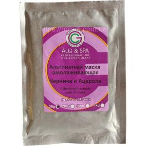 Черника и ацерола, 25гр - ALG & SPA Peel off Mask