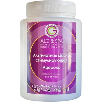 Ацерола, 200гр - ALG & SPA Refreshing Acerola Peel off Mask