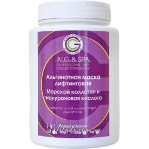 Гиалуроновая кислота и морской коллаген, 200гр -  ALG & SPA Hyaluronic Acid & Marine Collagen Peel off Mask