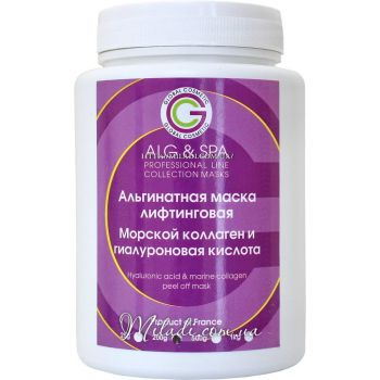 Гиалуроновая кислота и коллаген, 200гр -  ALG & SPA Hyaluronic Acid & Marine Collagen Peel off Mask