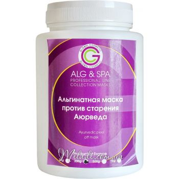 Аюрведа, 200гр - ALG & SPA Anti Ageing Ayurvedic Peel off Mask