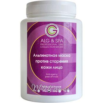 Спирулина и ламинария, 200гр - ALG & SPA Anti Ageing Peel off Mask