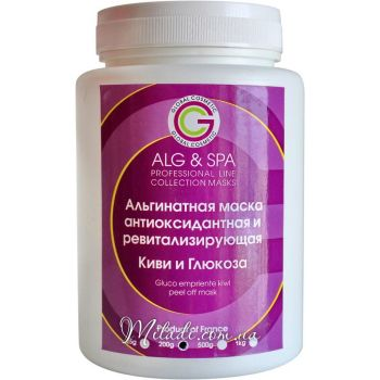 Киви и глюкоза, 200гр - ALG & SPA Gluco Empriente Kiwi Mask