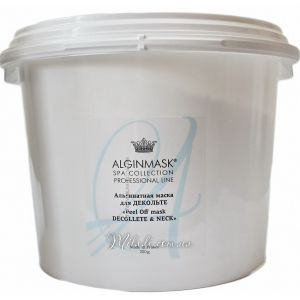 Для декольте и шеи, 1кг - Elitecosmetic Alginmask Peel Off mask Decollete & Neck 1kg