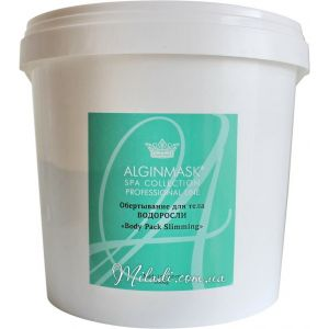 Водоросли, 1кг - Elitecosmetic Alginmask Body Pack Slimming 1kg