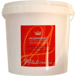 Клюква, 1кг - Elitecosmetic Alginmask Heating Herbal Pack Smooth Cranberry 1kg
