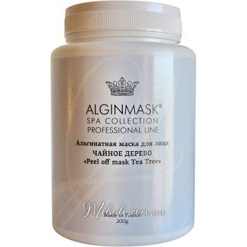 Чайное дерево, 200гр - Elitecosmetic Alginmask Peel off Mask Tea Tree