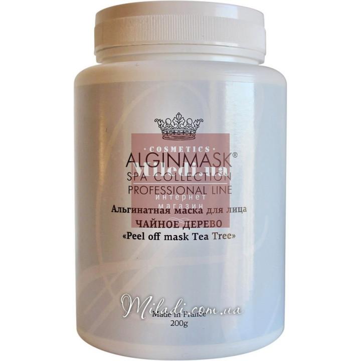 Альгинатная маска Чайное дерево - Elitecosmetic Alginmask Peel off Mask Tea Tree, 200гр