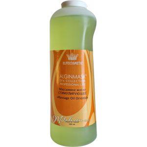 Массажное водорослевое масло, 500мл - Elitecosmetic Alginmask Massage Oil Seaweed