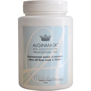 Классика, 200гр - Elitecosmetic Alginmask Peel off Base mask & Home