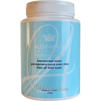 Для чувствительной кожи, 200гр - Elitecosmetic Alginmask Peel off Mild Mask