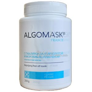 Гиалуроновая кислота и коллаген, 200гр - Algomask Repulping Peel off Mask