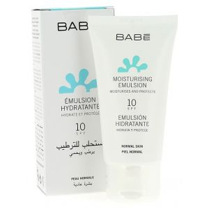 Увлажняющая эмульсия SPF20 - Babe Laboratorios Moisturing Emulsion Light Texture SPF20