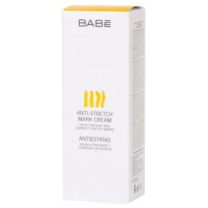 Крем для тела от растяжек, 200мл - Babe Laboratorios Anti-Strech Mark Cream