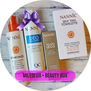 Beauty Box №29: Супер тело от Nannic, 250мл+200мл+30мл+50гр