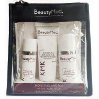 Набор против старения с гиалуроновой кислотой, 30мл+50мл+75мл - BeautyMed Beauty Kit Anti-Aging