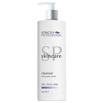 Очищающее молочко для сухой, возрастной кожи лица - Strictly Professional Bellitas Cleanser with Purple Orchid