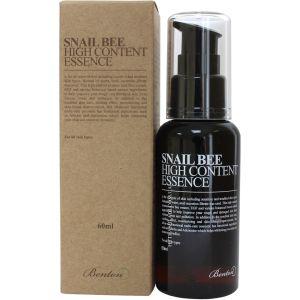 Эссенция с муцином улитки и пчелиным ядом, 60мл - Benton Snail Bee High Content Essence For All Skin Types
