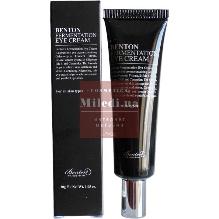 Крем антивозрастной для кожи вокруг глаз с ферментами галактомисис и ферментативного лизата - Benton Fermentation Eye Cream