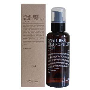 Улиточный тонер с пчелиным ядом, 150мл - Benton Snail Bee High Content Skin Toner For All Skin Types