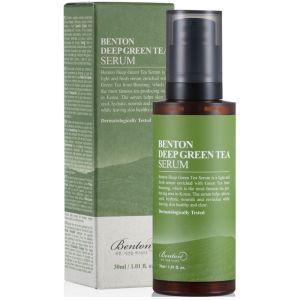 Антиоксидантная сыворотка с зеленым чаем, 30мл - Benton Deep Green Tea Serum