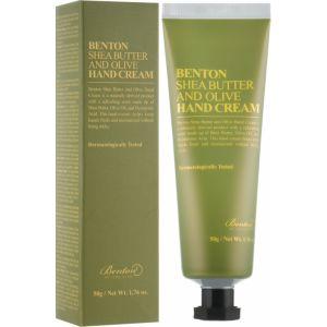 Крем для рук с маслом ши и оливы, 50мл - Benton Shea Butter & Olive Hand Cream