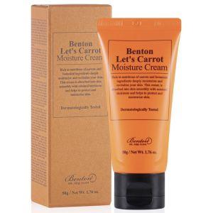 Питательный крем с экстрактом моркови, 50мл - Benton Let's Carrot Moisture Cream