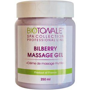 Крем масло с черникой для массажа - Biotonale Bilberry Massage Cream