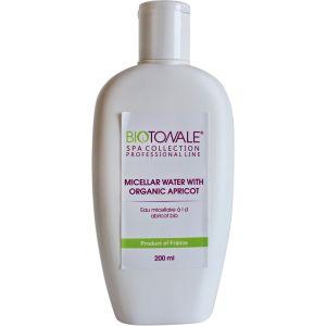 Вода мицеллярная для очищения кожи всех типов - Biotonale Micellar Water With Organic Apricot