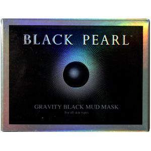 Маска грязевая магнитная, 50мл - Black Pearl Gravity Black Mud Mask