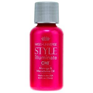Масло Моринга и макадамия, 15мл - CHI Miss Universe Style Illuminate Moringa & Macadamia Oil