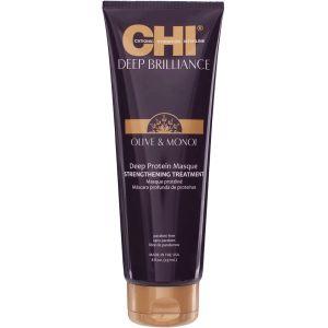 Маска с маслом оливы и монои, 237мл - CHI Deep Brilliance Deep Protein Masque Strengthening Treatment