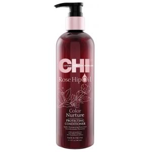 Кондиционер с маслом шиповника - CHI Rose Hip Oil Color Nurture Protecting Conditioner