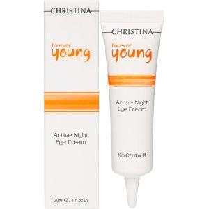 Ночной крем вокруг глаз Суперактив, 30мл - Christina Forever Young Active Night Eye Cream