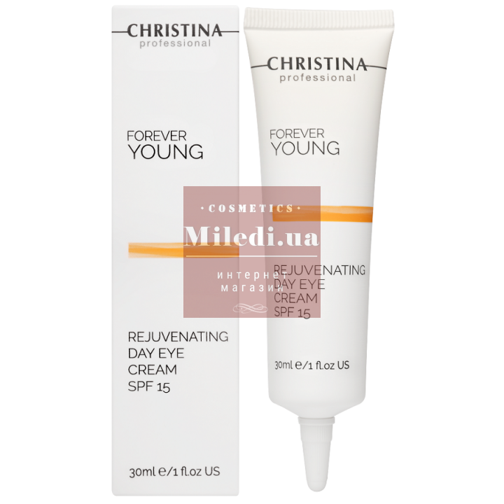 Крем омолаживающий дневной для кожи вокруг глаз - Christina Forever Young Rejuvenating Day Eye Cream SPF15, 30мл