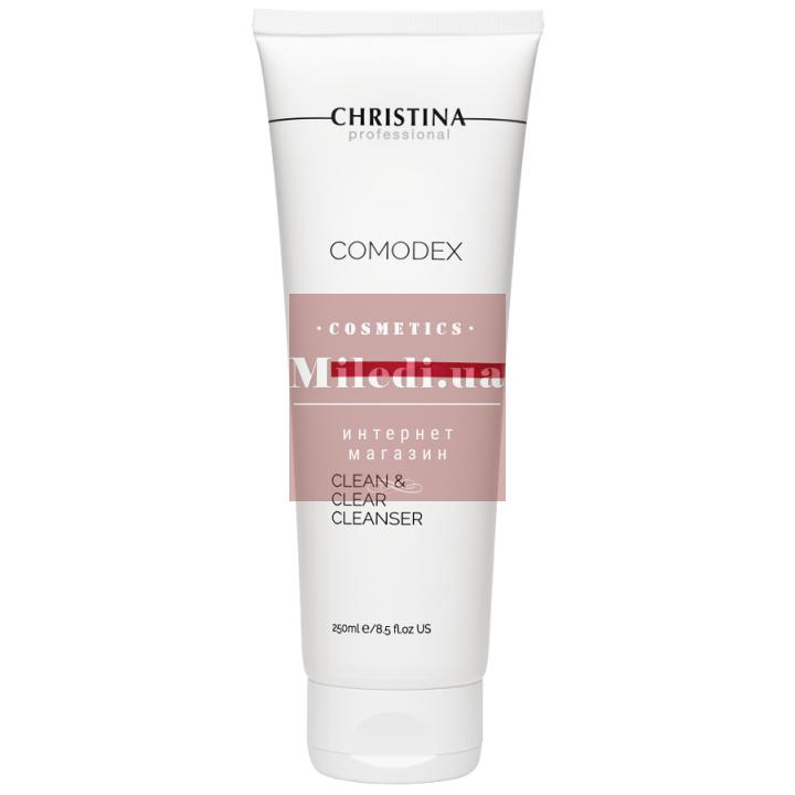 Гель очищающий для жирной проблемной кожи лица - Christina Comodex Clean & Clear Cleanser, 250мл