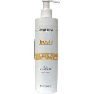 Гель-мыло с AHA-кислотами, 300мл - Christina Fresh AHA Cleansing Gel For All Skin Type
