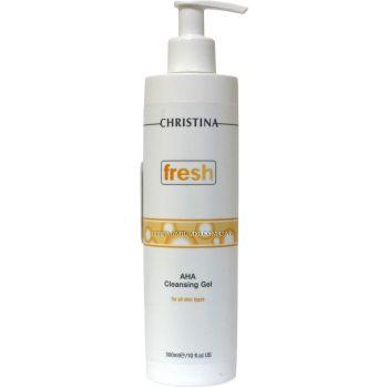 Гель-мыло очищающее с альфагидроксильными кислотами для лица - Christina Fresh AHA Cleansing Gel