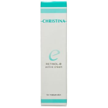 Активный крем для обновления и омоложения кожи (Кристина) - Christina Retinol E Active Cream For Mature Skin