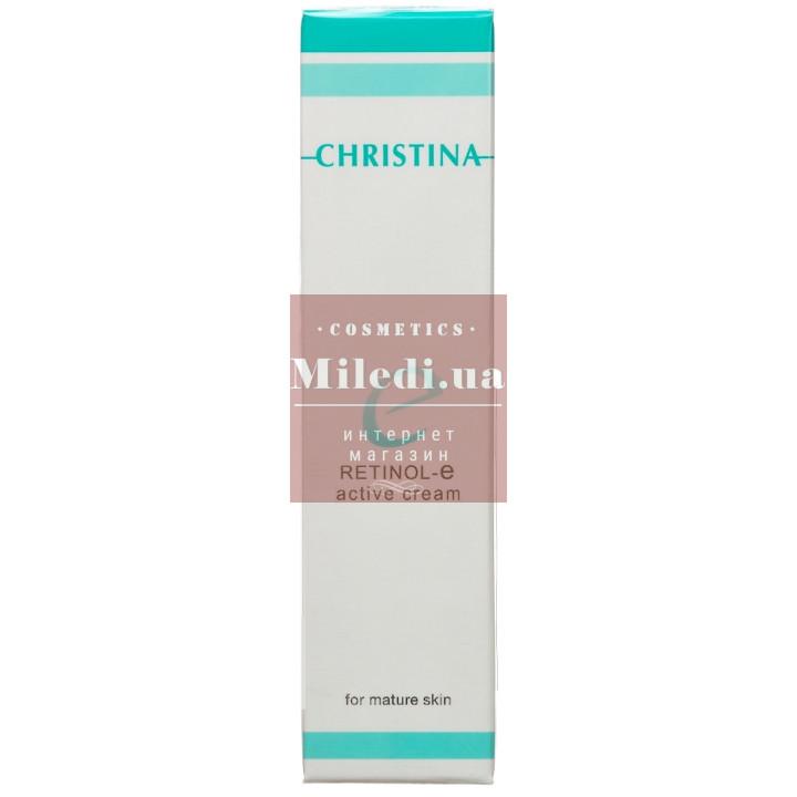Крем активный для обновления и омоложения кожи лица - Christina Retinol E Active Cream For Mature Skin