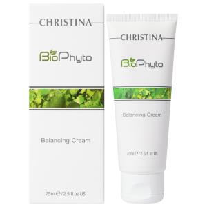 Балансирующий крем для чувствительной кожи, 75мл - Christina New Bio Phyto Balancing Cream
