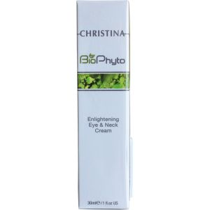 Осветляющий крем для кожи вокруг глаз и шеи (Кристина Био Фито) - Christina New Bio Phyto Enlightening Eye and Neck Cream