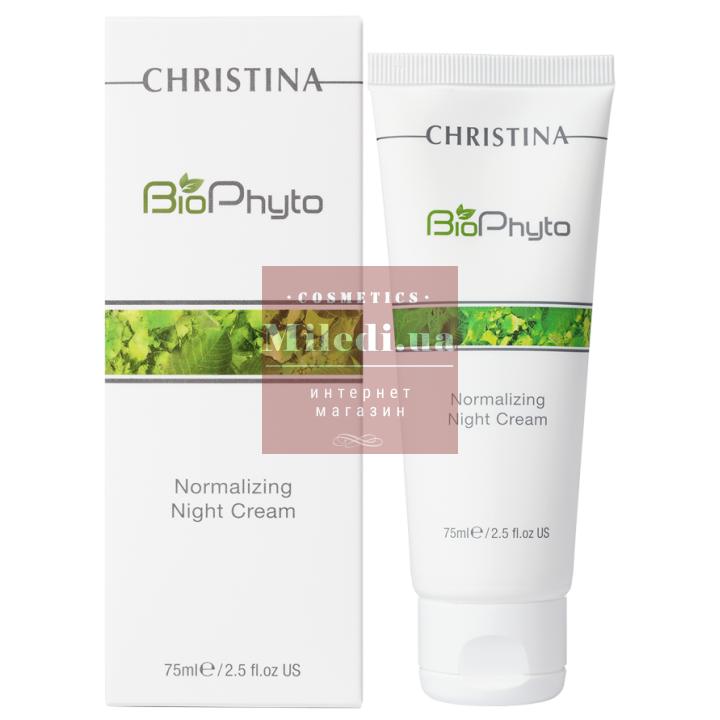 Крем ночной нормализующий для лица - Christina New Bio Phyto Normalizing Night Cream