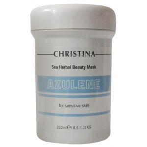 Азуленовая маска для чувствительной кожи, 250мл - Christina Sea Herbal Beauty Mask Azulene For Sensitive Skin